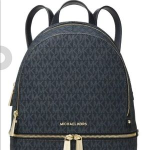 New Michael Kors Rhea backpack signature MK Admira